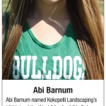 Kokopelli Landscaping's Athlete of the Week- Abi Barnum