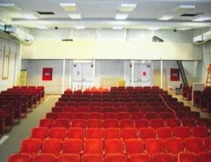 Theatre seating pre-2009 renovation.  Photo credit Bob Nelson