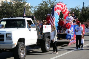 "Do it Best Corporation traveled with employees and their family stating, ""We love our Veterans."" Photo by Teri Nehrenz"