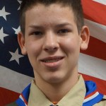 Toone receives Eagle Scout Award