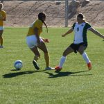 Bulldog soccer gals tie Pirates 2-2 defeat Eagles 1-0