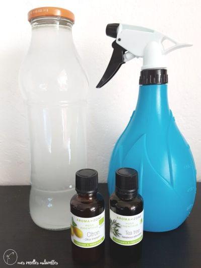 Le nettoyant multi usages maison mes recettes naturelles for Produit pour nettoyer les murs exterieurs