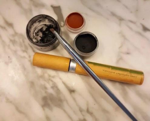 Mascara solide et eye liner DIY