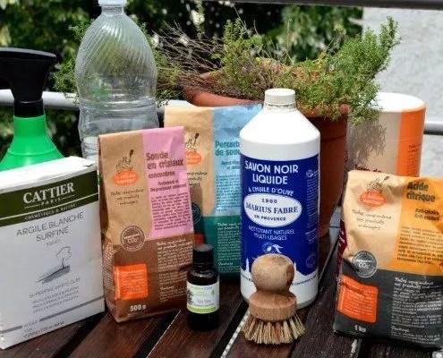 10 ingrédients indispensables fabriquer vos produits ménagers maison
