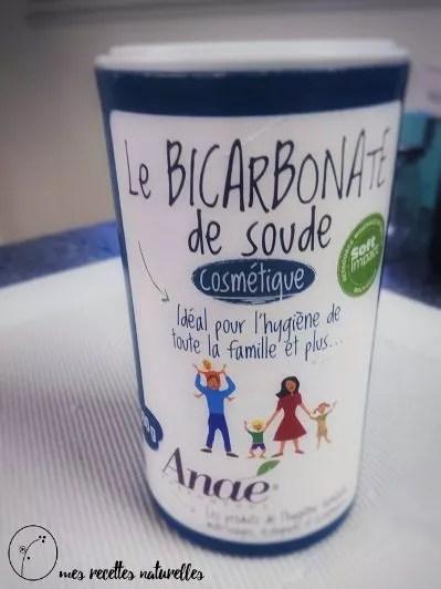 bicarbonate de soude qualité cosmétique