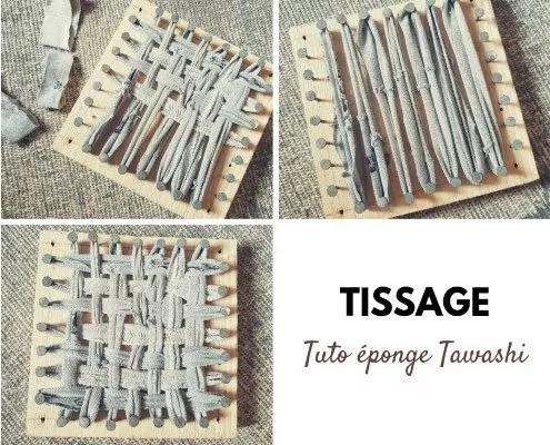 Tuto : fabriquer une éponge lavable tawashi - DIY écolo