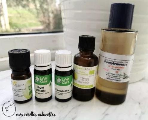 Se protéger de la grippe avec les huiles essentielles