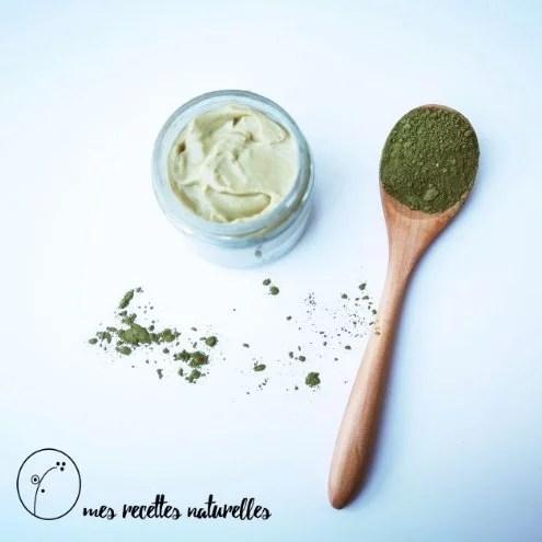 Recette de crème visage maison au thé vert matcha