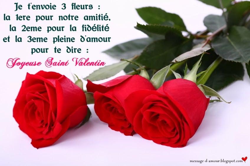 sms saint valentin