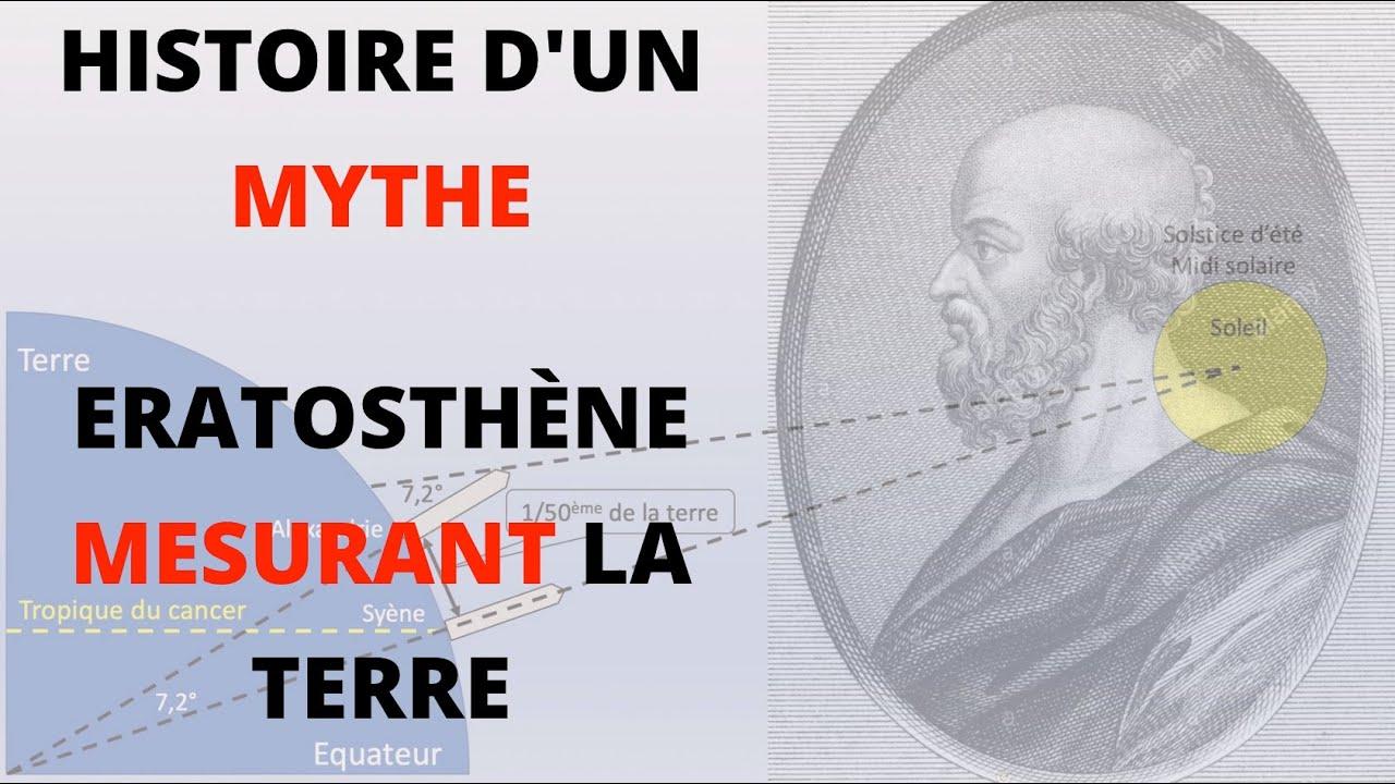 LA FIN DU MYTHE D'ÉRATOSTHÈNE MESURANT LA TERRE