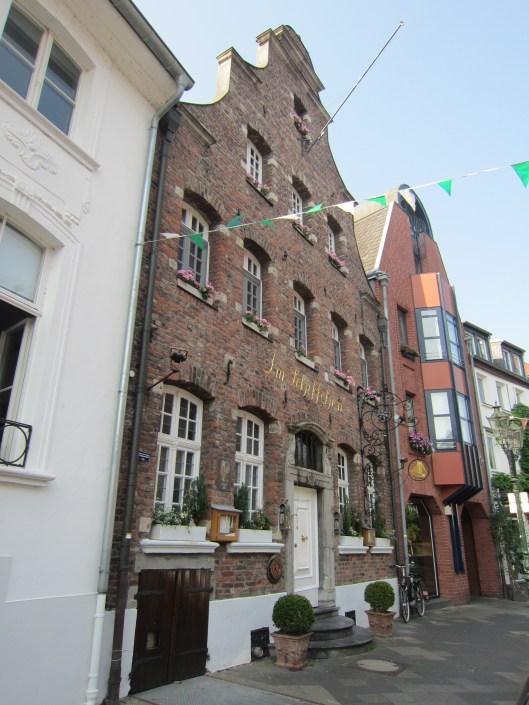 Old Building Kaiserswerth Dusseldorf 1733