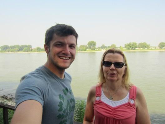 Me and Sabine in Kaiserswerth Dusseldorf