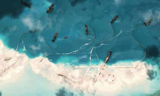 Mischief Reef China Buildup