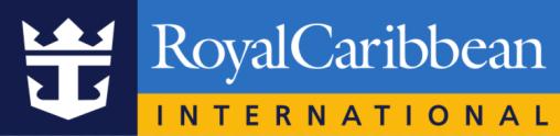 Cruise ship message in a bottle - Royal Caribbean Logo