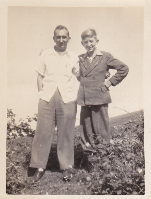 Frank Hayostek and Tom Fitzgerald