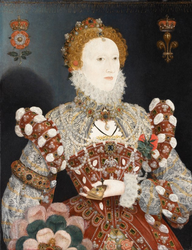 "Official Uncorker of Ocean Bottles - The ""Pelican Portrait"" of Queen Elizabeth I"