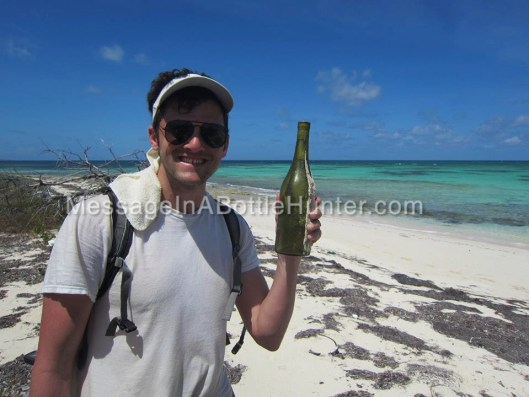 Andrea, Cornelia, and Helga Bottle on Beach with Clint Watermarked