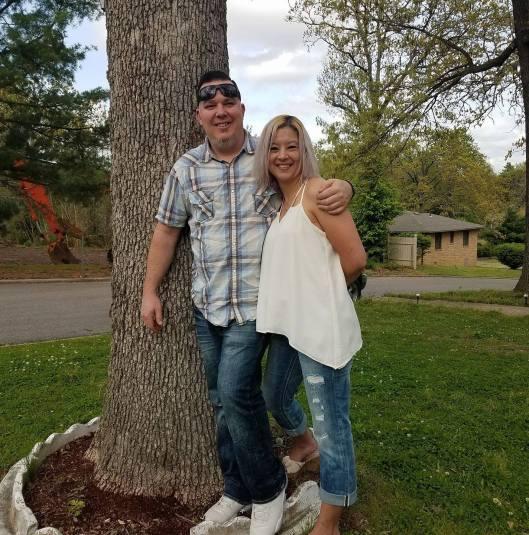 Sarah Hendrickson / Lindgren with Partner Shane