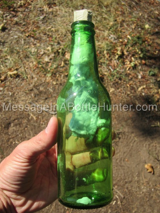 How to Make a Message in a Bottle - Beer Bottle Mess 1
