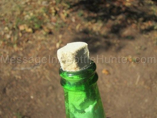 How to Make a Message in a Bottle - Beer Bottle Mess 5
