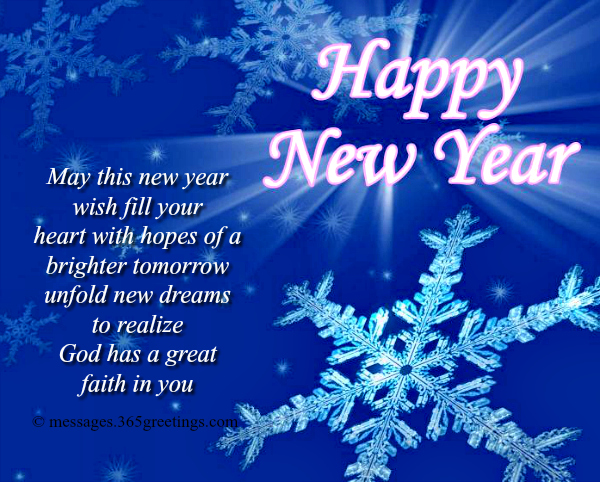 Christian Happy New Year Messages
