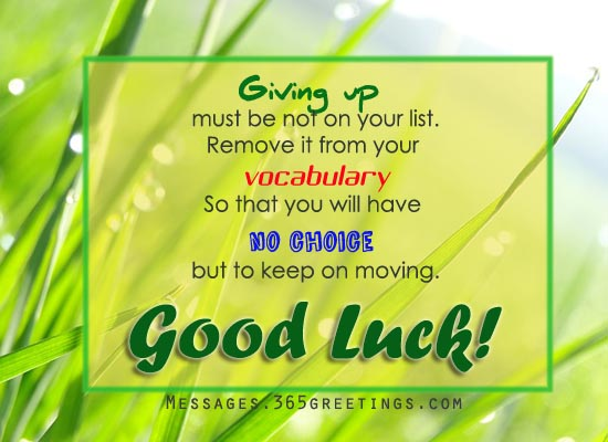 good luck wishes for sports - Good Luck Quotes