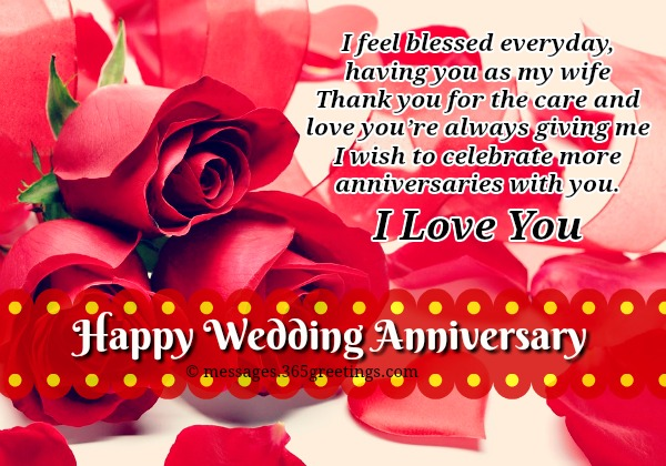 Wedding Anniversary Wishes For Wife Stuveracom