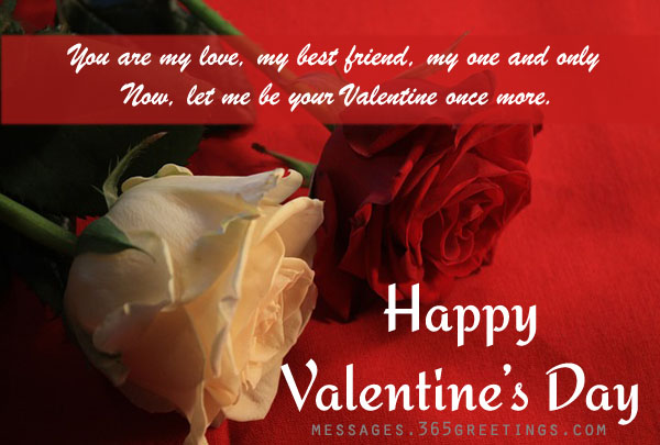 Valentine Messages For Girlfriend ~ Top Ten Quotes