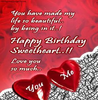 Happy Birthday Wifey Cake