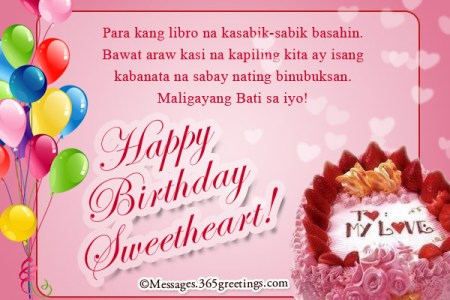 birthday message for best friend male tagalog images