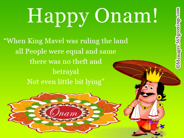 Heartwarming Onam Greetings For Cards