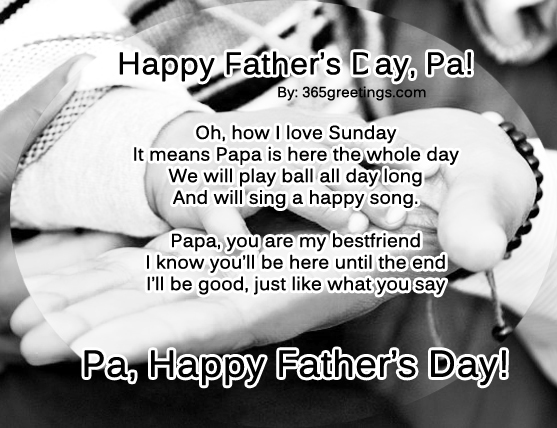Fathers Day Poems - 365greetings.com