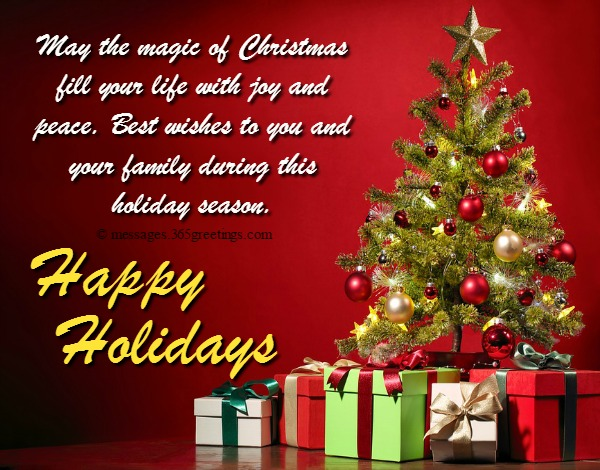 Holiday Wishes Greetings