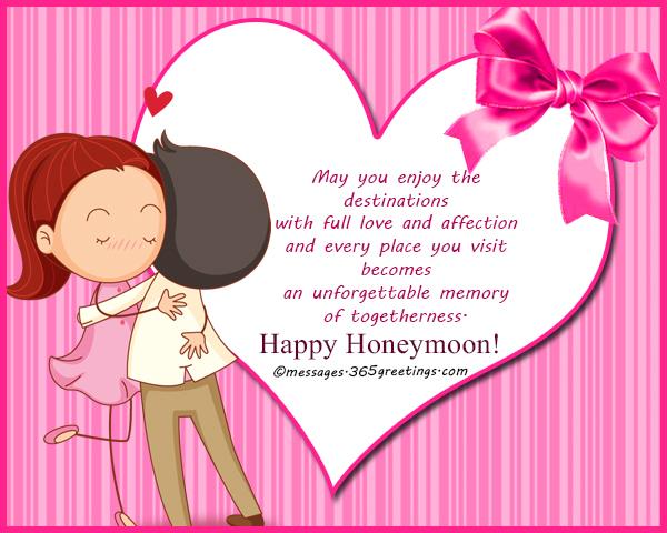 Enjoy Your Honeymoon Wishes