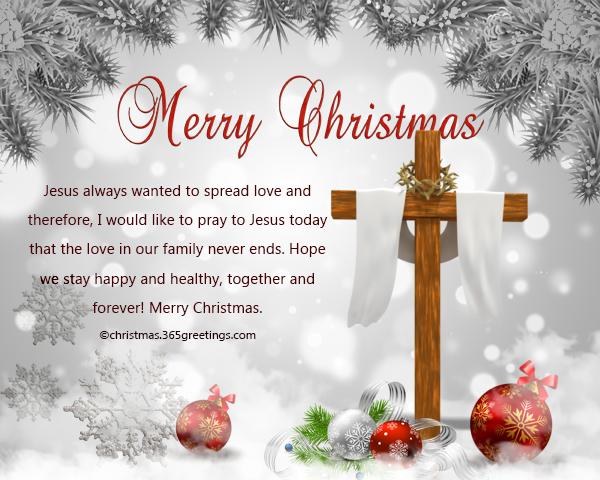 Christian Christmas Wishes