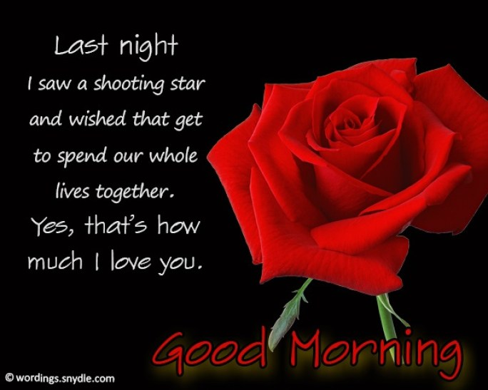 Good morning messages for him - 365greetings.com