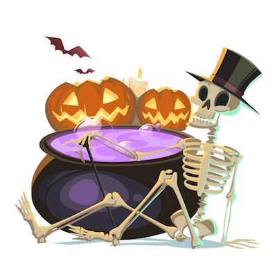 happy halloween stickers for iOS messages