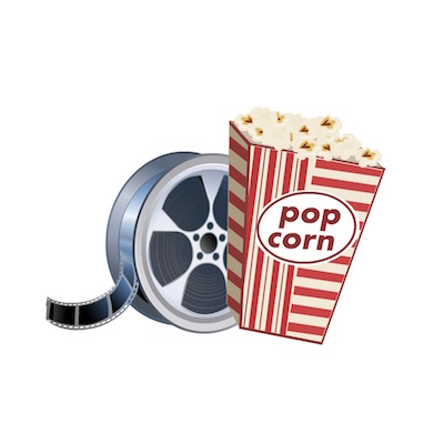free movie theater stickers for iOS 10 message apps