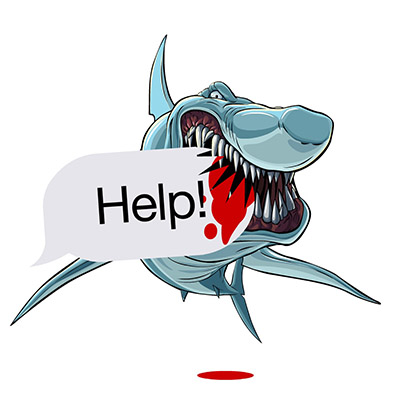 shark stickers for iMessages free