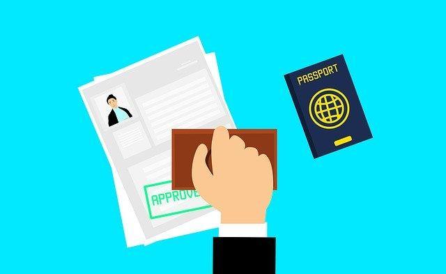 visa sur passeport