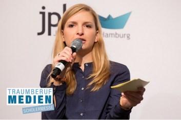 """Moderation in Hamburg zum Thema """"Wege in den Journalismus"""""""