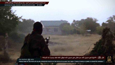 A scene from an Al-Shabaab propaganda video