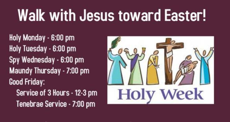 lent holy week
