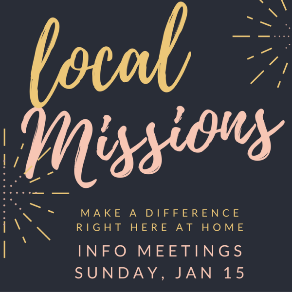 Get Involved in Local Missions! – Messiah Lutheran Church