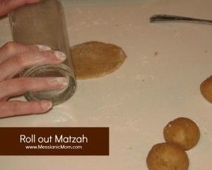 Matzah rolled out edited