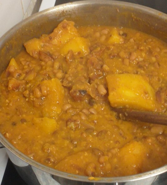 yam and beans recipe