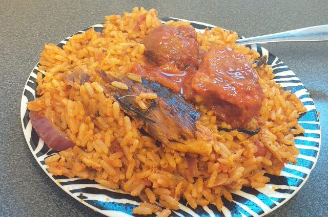Fish Jollof Rice Recipe