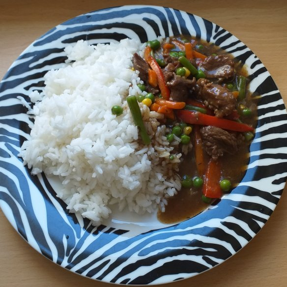 beef sauce for rice recipe