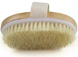 Natural Bristle Handheld Body Dry Brush