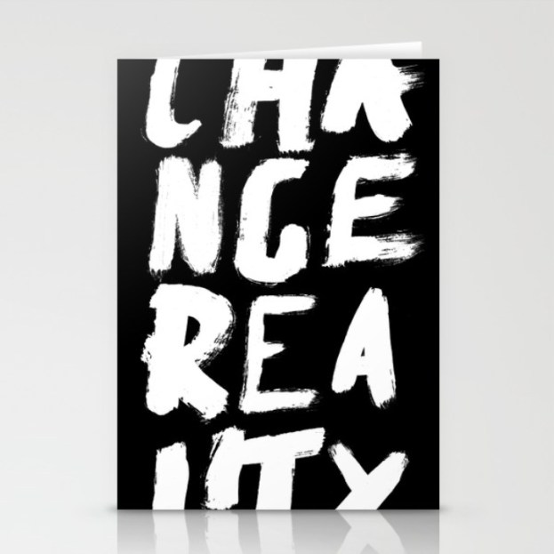change-reality-handwritten-typography-cards